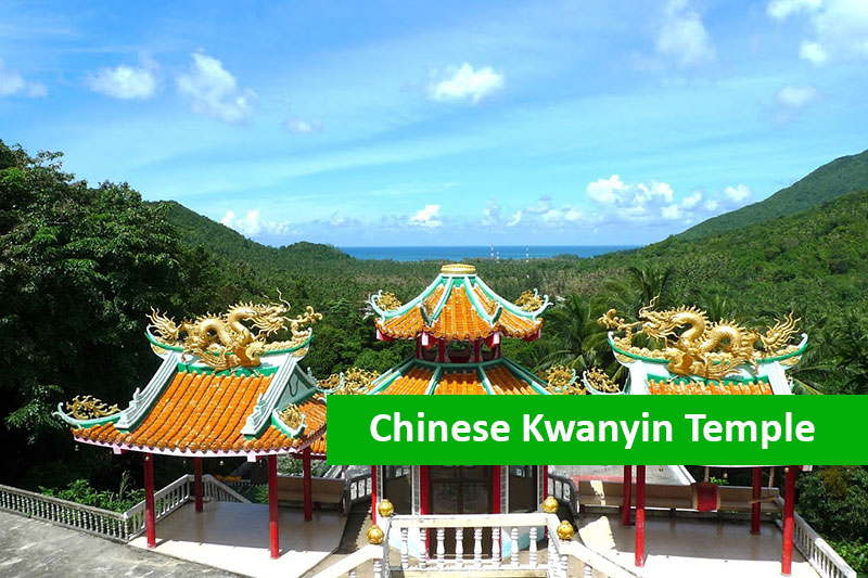 Chinese Kwanyim Temple myanman holiday